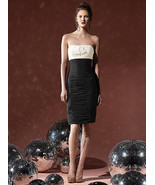 Dessy Social Bridesmaids  8107...Bridesmaid / Cocktail Dress....Black....6 - $29.69