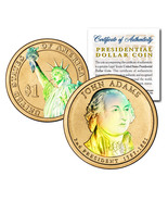 HOLOGRAM 2-sided 2007 JOHN ADAMS Presidential $... - $148,23 MXN