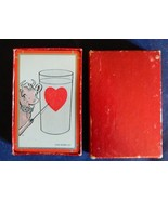 Vintage 1950's Elsie Borden With Heart Advertising Playing Cards And Box - $18.66