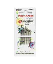 Mary Arden Embroidery Needles Sizes 5/10 - $5.63