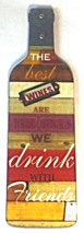 Wine Fat Chef French Italian The Best Wine Wall Plaque Kitchen Home Decor - $25.00
