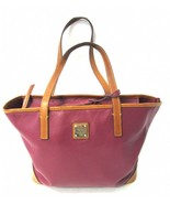 DOONEY & BOURKE Red Saffiano Leather BRIELLE Tote Bag - $99.00