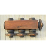 Steam Locomotive Wood Water Injector Mold SPRR Shops Great Wall Hanging - $84.15