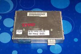 1992 1993 Chevy Lumina Abs Module 16163576 W/Bays Prome - $46.28