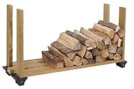 Firewood Rack System Wood Log Holder Storage Ca... - $27.45