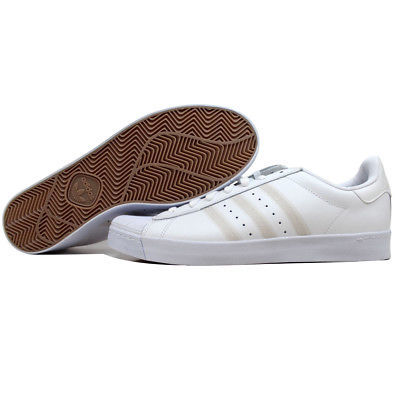 100% authentic e0b81 7cecb Adidas Superstar Vulc White White-Silver Metallic F37463 Men s SZ 11.5