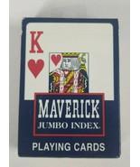 MAVERICK JUMBO INDEX Playing Cards Hoyle Products New SEALED  - $9.49