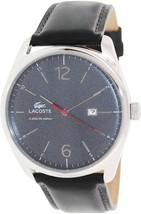 Lacoste Austin Leather - Black Men's watch #2010694 - $178.19