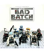 8pcs Star Wars Cody Captain Rex Echo Clone Force 99 The Bad Batch Minifigures - $16.99