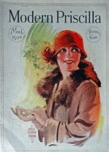 James Calvert Smith, 20's Magazine Cover art, Color Illustration (woman ... - $18.80