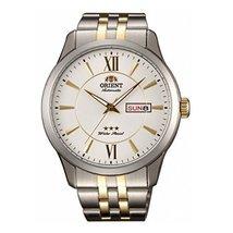 Orient FEM7P002W9 42.8mm Automatic Multicolor Steel Bracelet & Case Mineral M... - $163.93