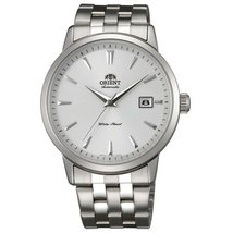 Orient ER2700AW Men's Symphony Automatic Stainless Steel White Dial Mech... - $150.35
