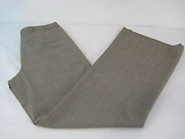H&M Black/White/Yellow Plaid Dress Pants Size 8... - $16.81
