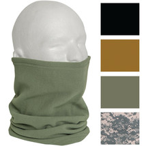 Polar Fleece Military Neck Gaiter Warmer Cold Weather Cover Scarf Guard ... - $9.99