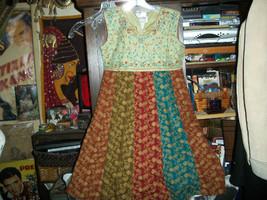 SRI LANKIAN  SO FABULOUS Embroidered Dress Size 36 - $24.75