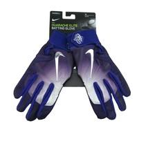 Nike Huarache Elite Baseball Batting Gloves Purple Size Medium NEW PGB543-560 - $39.59