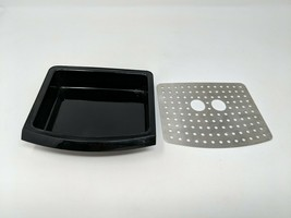 DeLonghi EC-155 Drip Drink Pour Cup Tray Holder 2-Piece Replacement Part... - $10.39