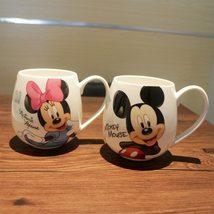 Cartoon Mickey Minnie Ceramic Milk Mug Coffee - $31.12