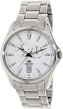Orient Men's ET0R006W Silver Stainless-Steel Automatic Watch - $190.12