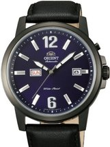 Orient 42mm PVD Starfish Day and Date Automatic Watch with Blue Dial EM7... - $150.35
