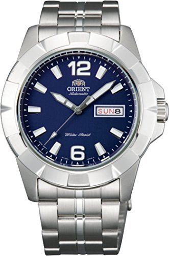 Primary image for Orient #FEM7L004D Men's Anchor Stainless Steel Blue Dial Day/Date Automatic S...