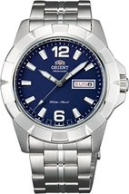 Orient #FEM7L004D Men's Anchor Stainless Steel Blue Dial Day/Date Automa... - $163.93
