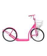 "20"" Adult SCOOTER in HOT PINK - Amish Kick Foot Bike Basket Brakes Racin... - $312.61"