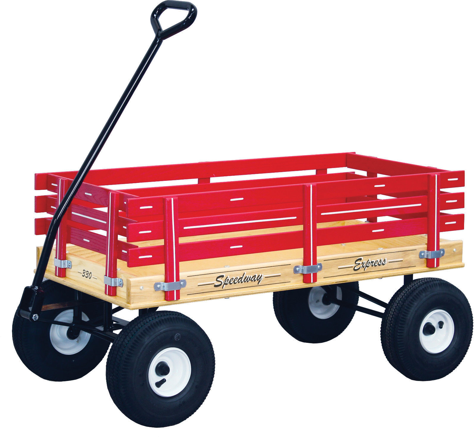 Amish Wagon Parts : Amish heavy duty wagon bed solid quality cart red