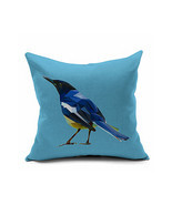 Cotton Flax Pillow Cushion Cover Flower Bird   HN007 - £9.40 GBP+