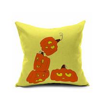 Cotton Flax Pillow Cushion Cover Halloween    WS112 - $12.99+
