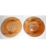 Vtg Handcrafted Candle Holder Plates Adirondack... - $12.76