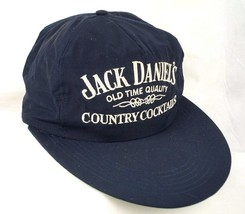 Jack Daniels Country Cocktails Blue Baseball Cap Hat Big Bill EUC Box Sh... - $22.99