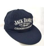 Jack Daniels Country Cocktails Blue Baseball Cap Hat Big Bill EUC Box Sh... - $22.99