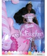 BARBIE in The Nutcracker SUGARPLUM PRINCESS DOLL  AA  w DANCE STAND (2001)  - $65.00