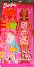 Barbie Doll - Weekend Style Fashion and Accessory Gift Set (2001) by Mattel - $24.95