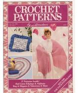 Crochet Patterns by Herrschner's January 1989 ... - $4.99