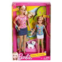 Barbie Sisters Pup Walk Barbie and Stacie Doll 2-Pack  - $73.24