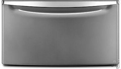 Whirlpool Washer/Dryer Pedestal With Drawer Lunar Silver - XHPC155XL