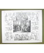 NEPTUNE Sacrifice Roman Gods Hades Proserpine -... - $24.70