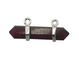 appealing Indian Ruby 925 Sterling Silver Red Pendant Natural supply US ... - $29.99