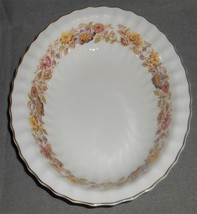 ROYAL DOULTON Bone China MAYFAIR PATTERN Oval Serving Bowl MADE IN ENGLAND - $69.29