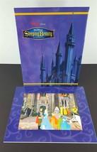 Disney Store Sleeping Beauty Edición Especial Litografía 27.9x35.6cm W/ ... - $14.88