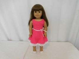 American Girl Doll Samantha  Original Pleasant Company Dressed in Heart Dress - $87.14