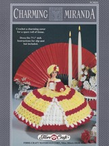 Charming Miranda, Fibre Craft Crochet Doll Clothes Pattern Booklet FCM251 - $4.95