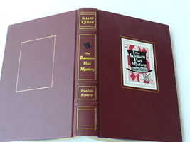 Ellery Queen The Roman Hat Mystery Franklin Library 1st Edition Leather ... - $39.20