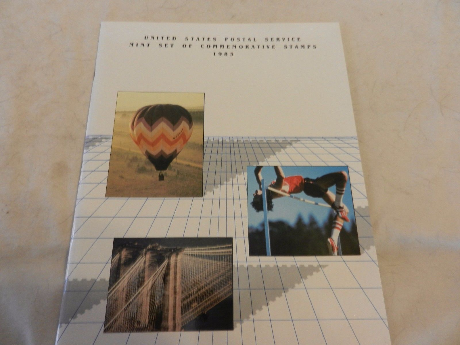 1983 USPS Mint Set of Commemorative Stamps Book Only no stamps