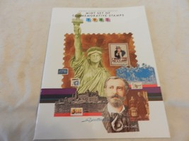 1985 USPS Mint Set of Commemorative Stamps Book Only no stamps - $15.83