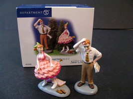 Dept 56 Snow Village What A Great Find Set of 2 #55265 New In Box Retired - $9.99
