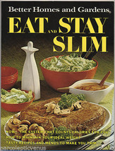 1968 Better Homes & Gardens EAT & STAY SLIM Diet Recipes COOKBOOK Cook Book - $5.95