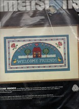 """1985/""""Welcome Friends""""/#2301/Dimensions/Needlepoint/NEW - $8.50"""